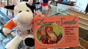 Cow and Dear Santa Book